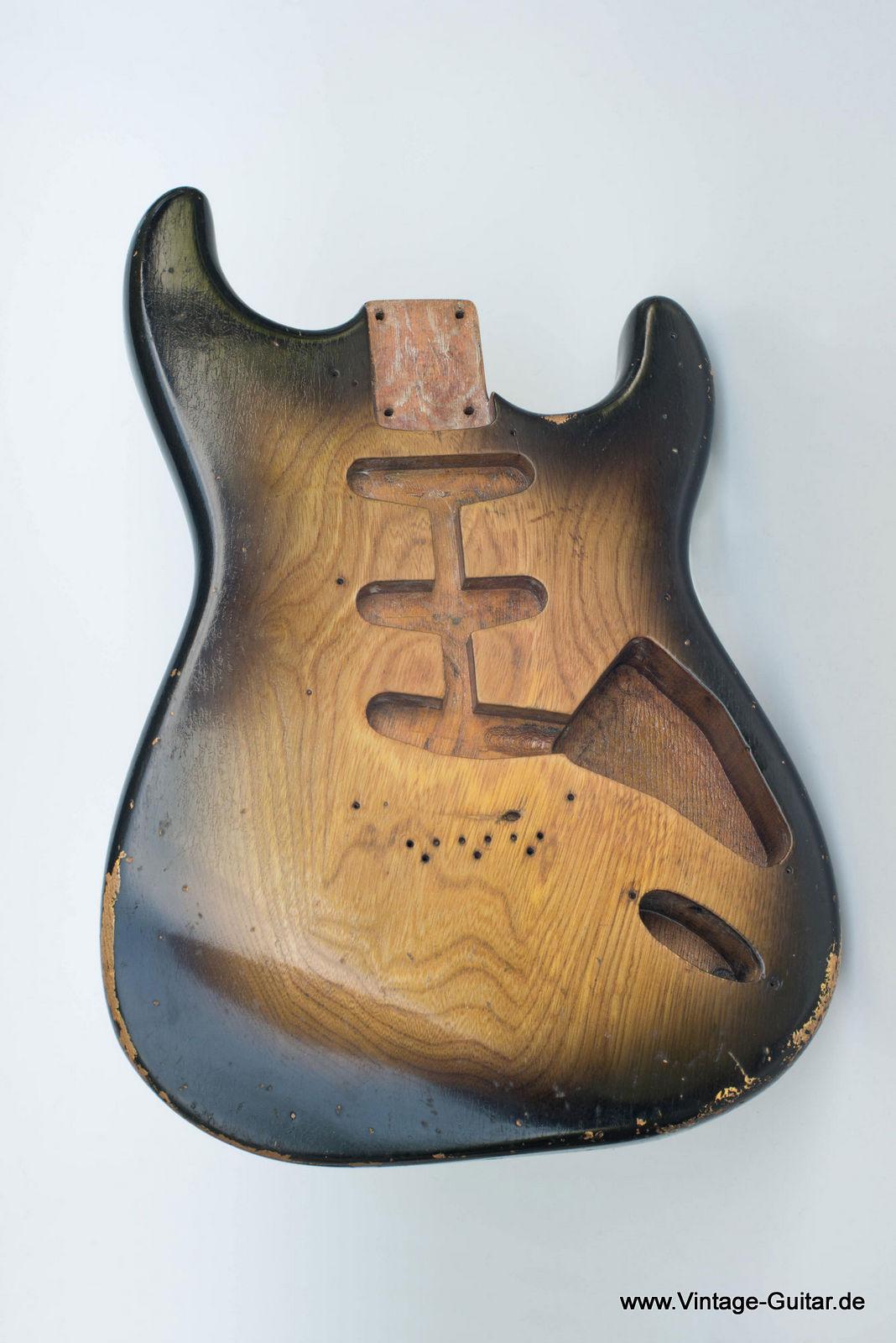 Fender Stratocaster Neck >> FENDER Stratocaster [1955] | A-1193