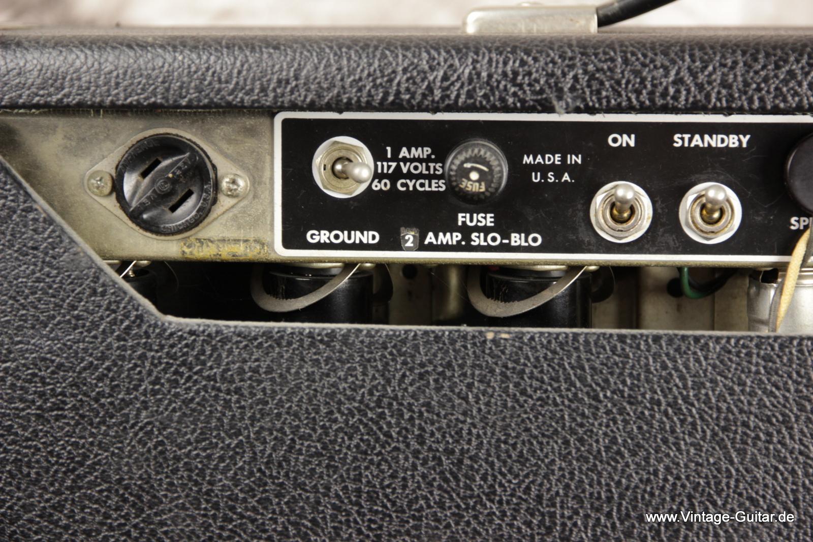 Vintage Fender Ampere Info