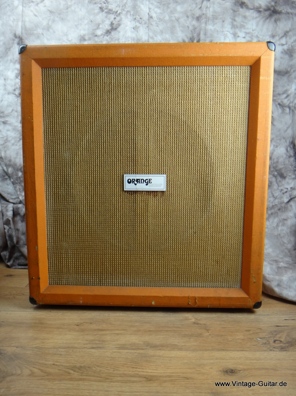 Orange Bass Cabinet 18 Inch 1973 c.   A-1193