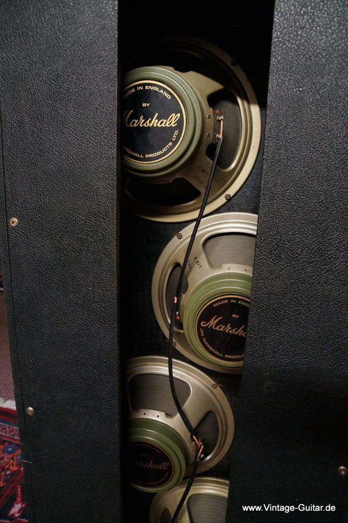 Marshall Model 1969 4x12 Pa Columns 1970 A 1193