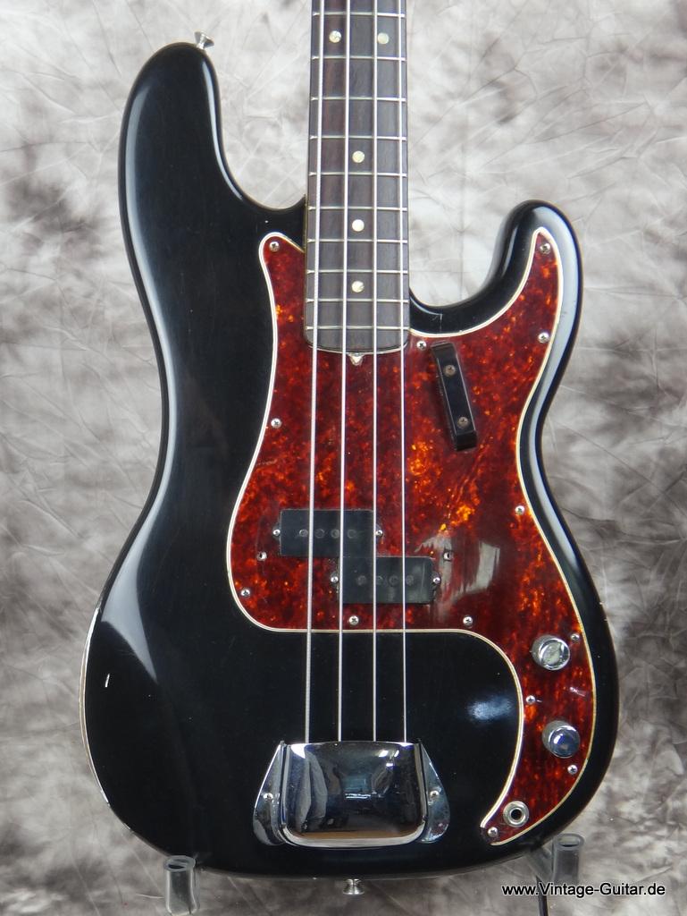 Img Vintage 2121 Fender Precision Bass 1966 Black 002jpg