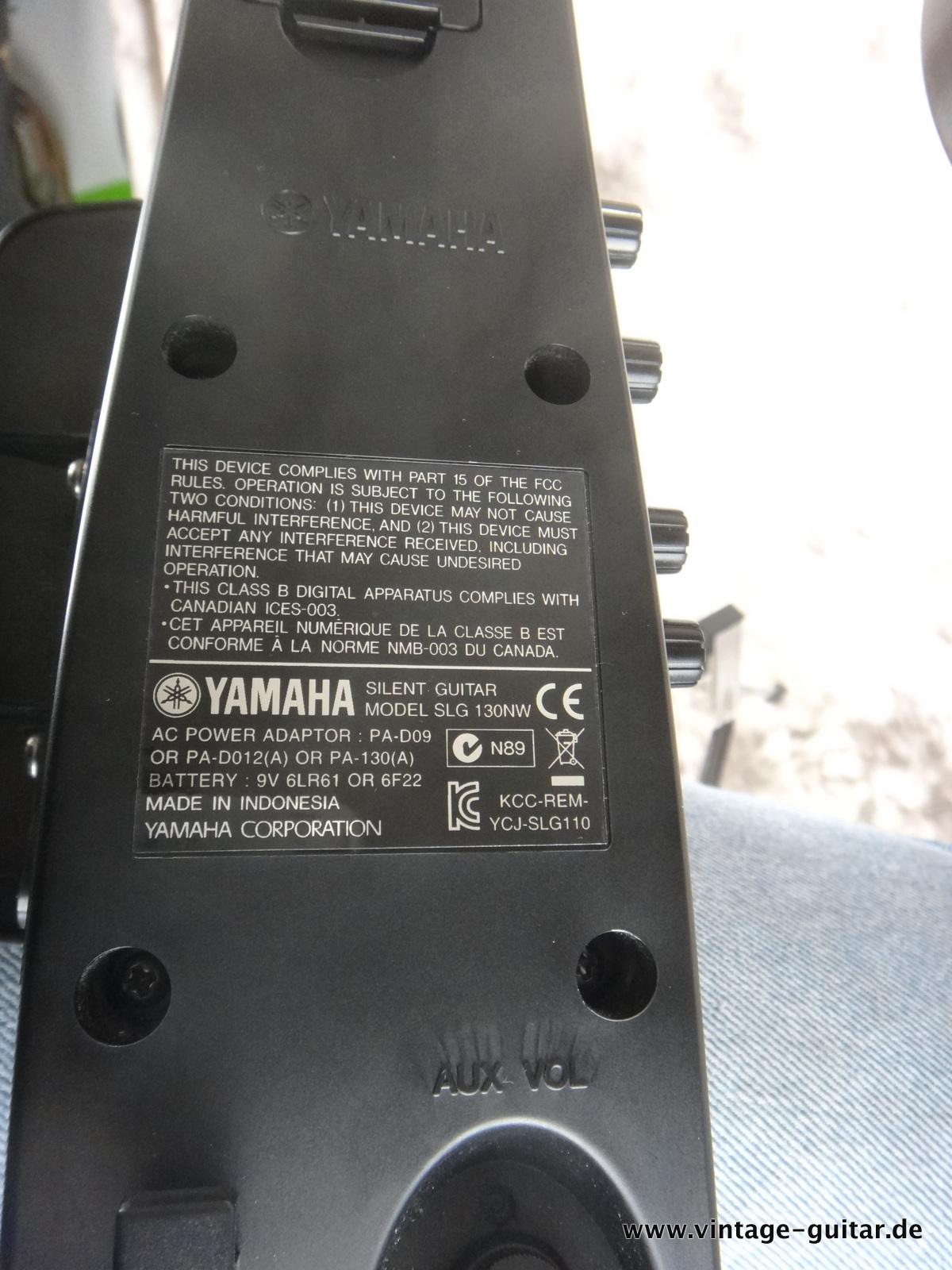 Yamaha Silent Nw