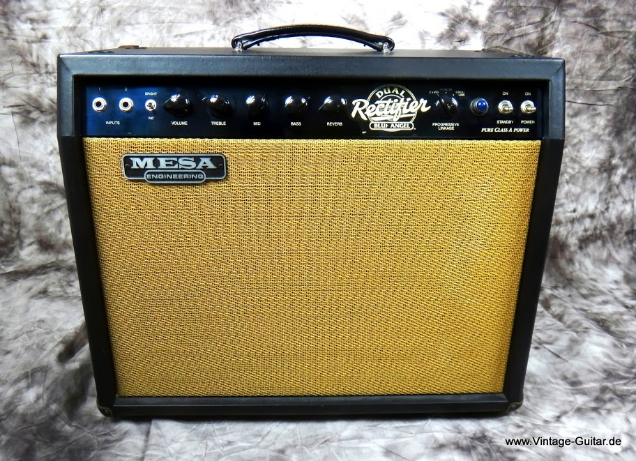 Mesa boogie blue angel dual rectifier 2002 a 1193 for Mesa boogie blue angel