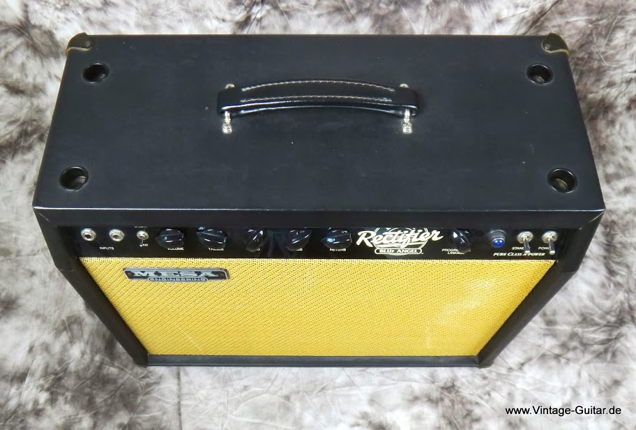 Mesa boogie blue angel dual rectifier 2002 a 1257 for Mesa boogie blue angel