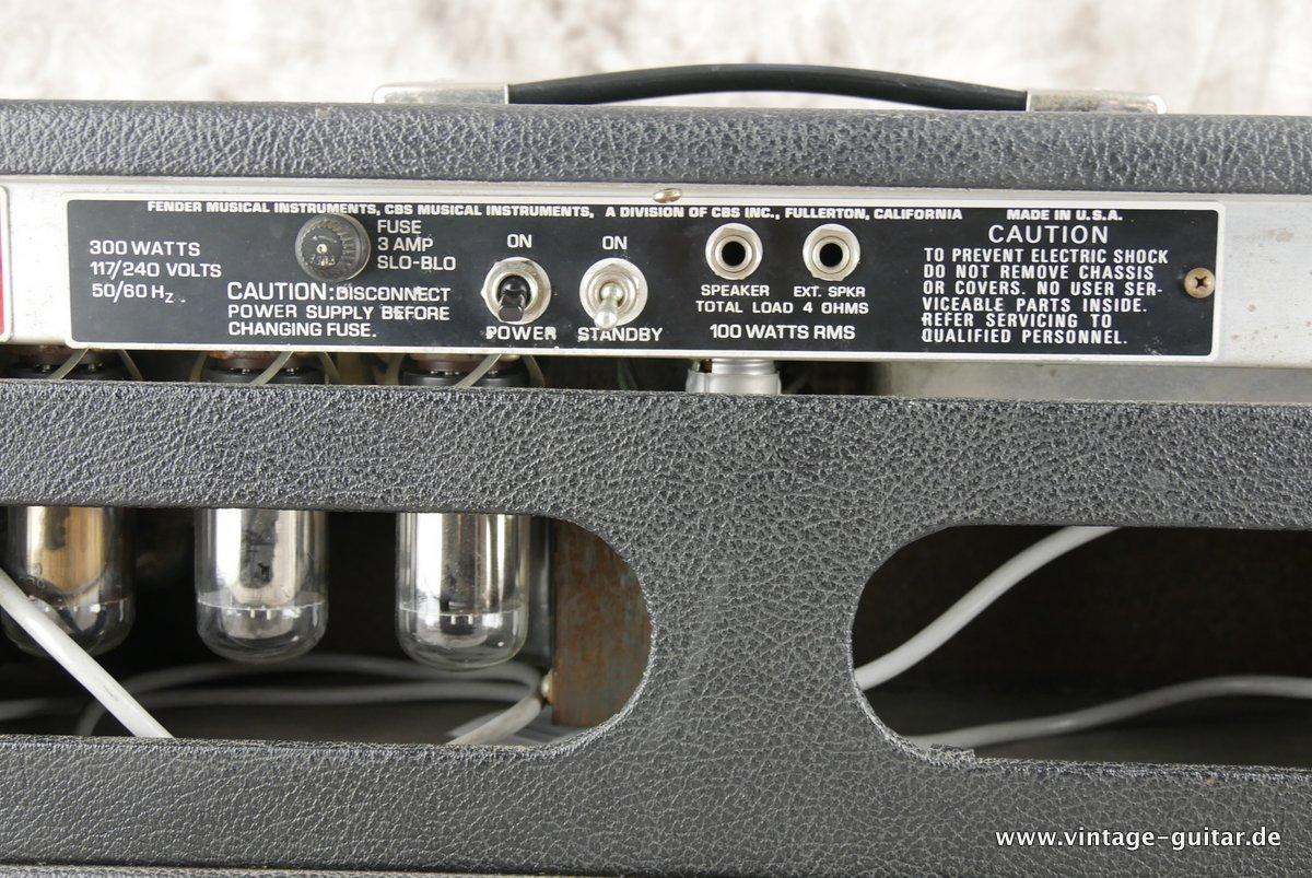 FENDER Bassman 100 [1976] | A-1257