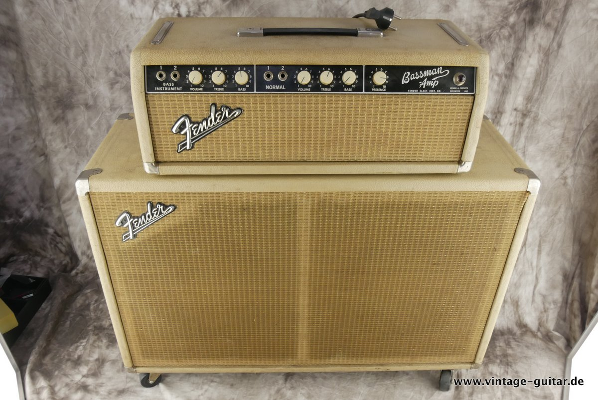 FENDER Bassman top and cabinet