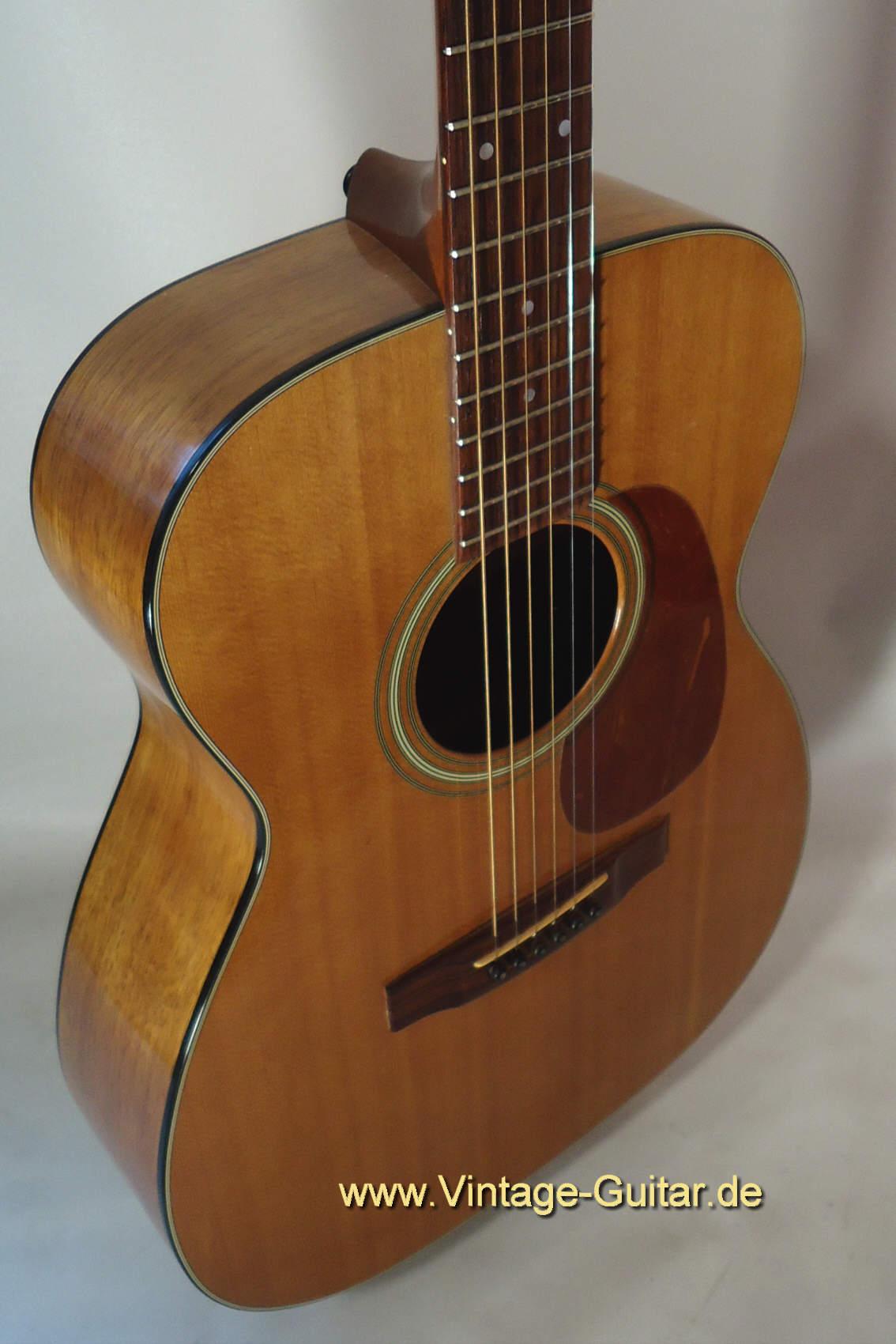 Martin guitar koa vintage